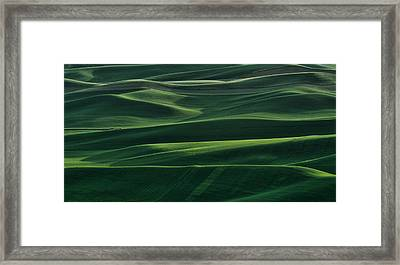 Shadows And Light Framed Print by Don Schwartz