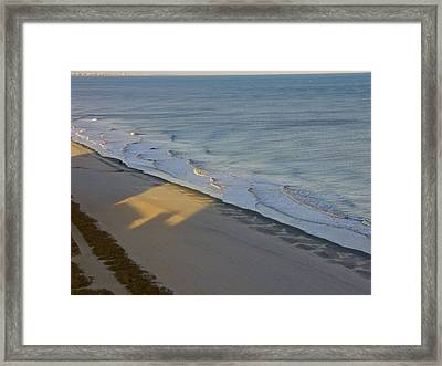 Shadows Change ... Just As We Do Framed Print