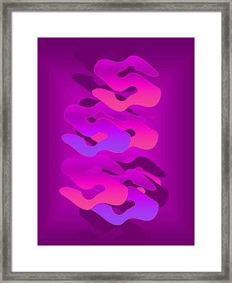 Framed Print featuring the digital art Shadows by Gayle Price Thomas