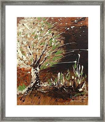 Shadows Framed Print