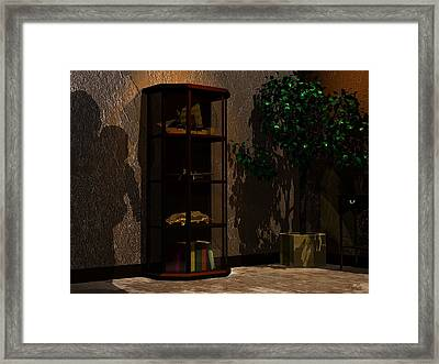 Shadows Framed Print by John Pangia