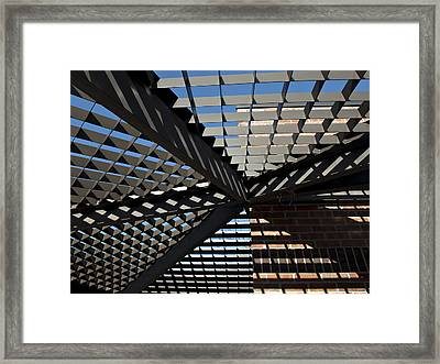 Framed Print featuring the photograph Shadows by Judy  Johnson