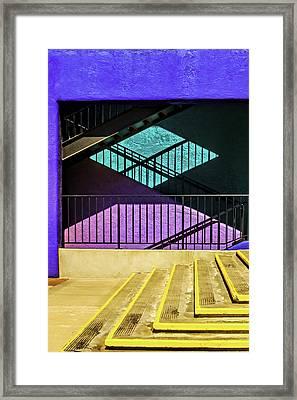 Shadows Framed Print by Maria Coulson