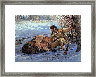 Framed Print featuring the painting Shadows Of Concern by Steve Spencer