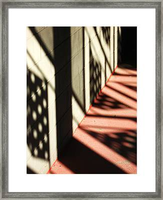 Shadows Of Love Framed Print