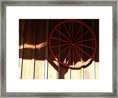 Shadows Of Micanopy Framed Print by Warren Thompson