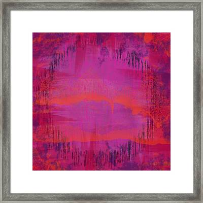 Shadows Of Night Framed Print