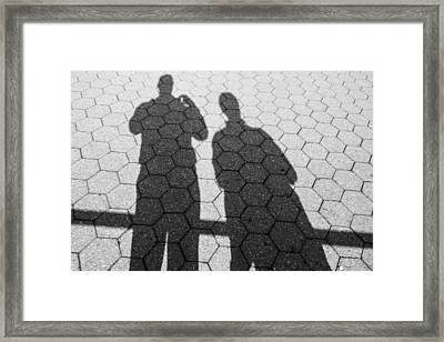 Shadows Of Our Former Selves Framed Print by Jon Woodhams