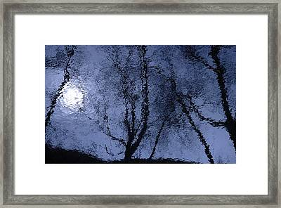 Shadows Of Reality  Framed Print
