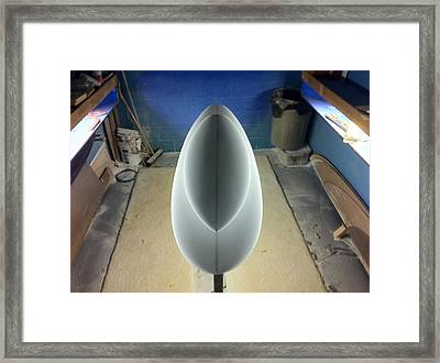 Shadows Of Shaping Framed Print