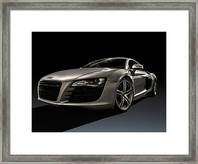 Shadows Of Silver Framed Print by Douglas Pittman