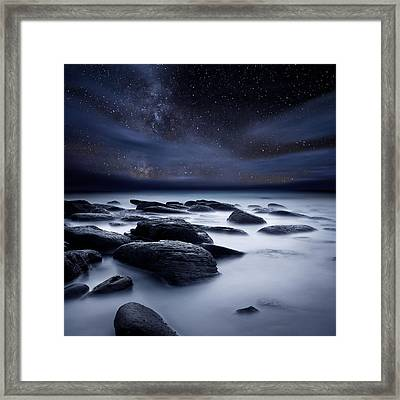 Shadows Of The Night Framed Print