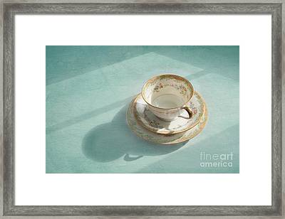 Shadows Of The Past Framed Print by Kay Pickens