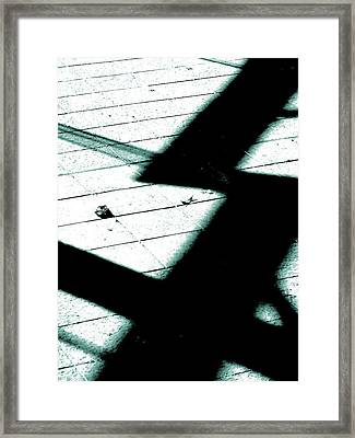 Shadows On The Floor  Framed Print