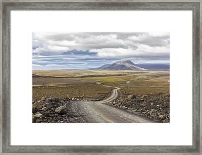 Shadow's On The Mountain Framed Print by Jon Glaser