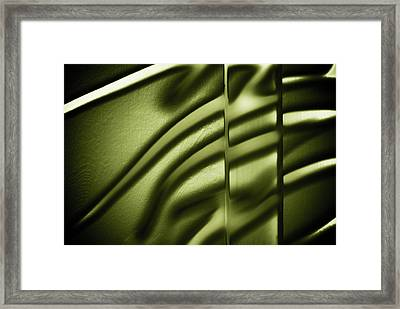 Shadows On Wall Framed Print