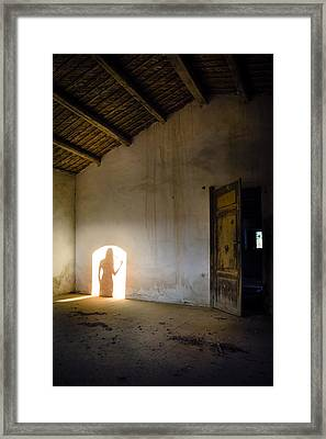 Shadows Reborn - Vanity Framed Print