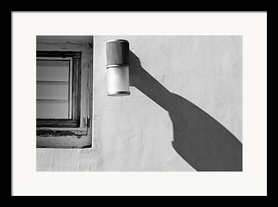 Elongated Shadows Framed Prints
