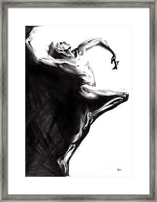 Shadowtwister Framed Print