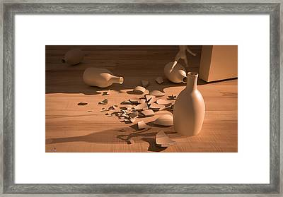 Shadowx Framed Print by Shinji K