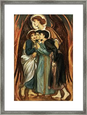 Shadrach, Meshach And Abednego Framed Print by Simeon Solomon