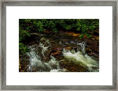 Shady Brook Framed Print by Russ Burch