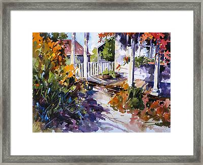 Shady Spot Framed Print