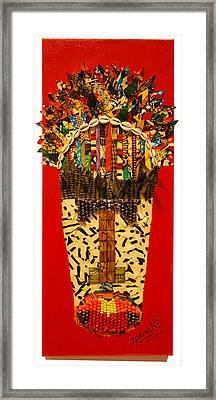 Shaka Zulu Framed Print