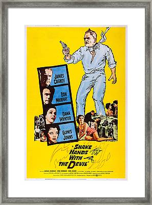 Shake Hands With The Devil, Us Poster Framed Print by Everett