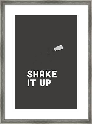 Shake It Up Framed Print by Nancy Ingersoll