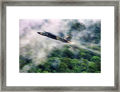Shake Rattle And Roll Framed Print by Peter Chilelli
