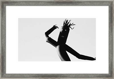 Shake Your Body Framed Print by Anthony Bean