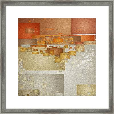 Shaken At Sunset Framed Print