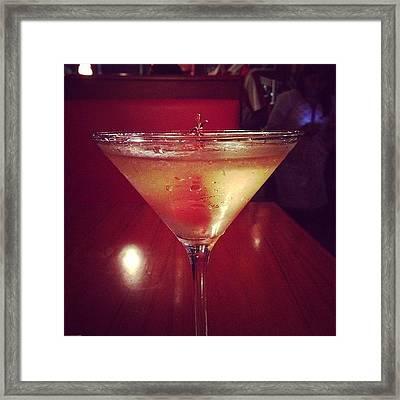 Shaken But Not Stirred. #cocktail Framed Print