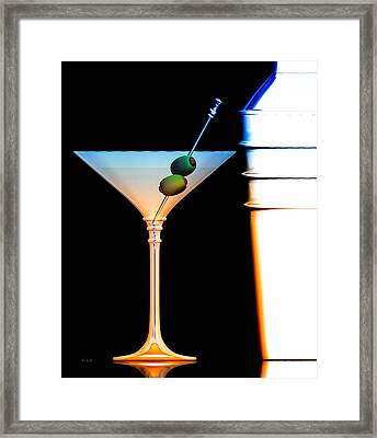 Shaken Not Stirred Framed Print by Bob Orsillo
