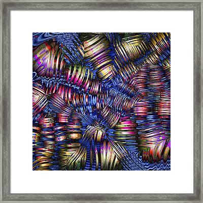Shaken Not Stirred Framed Print by Wendy J St Christopher
