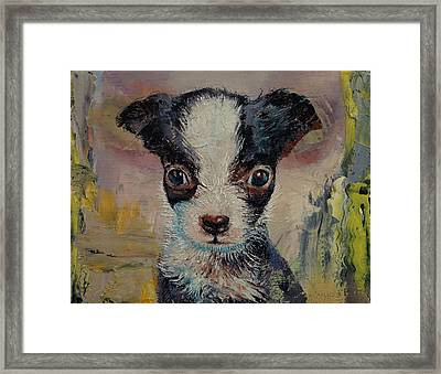 Shakespeare Framed Print by Michael Creese