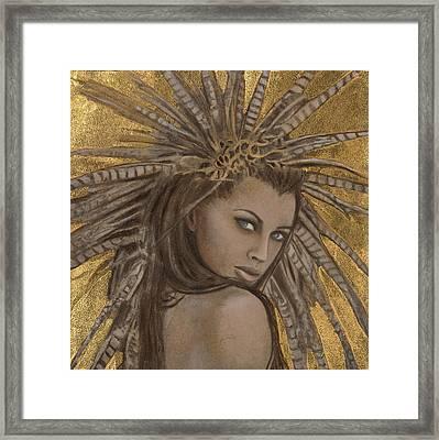 Shakti Framed Print by Kimberly Webber