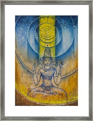 Shakti Framed Print by Vrindavan Das