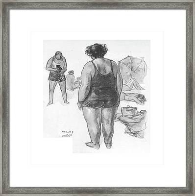 Shall I Smile? Framed Print by C.W. Anderson