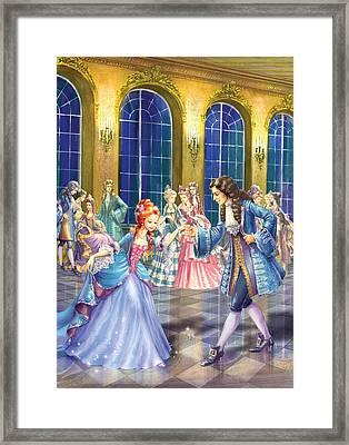 Shall We Dance Framed Print by Zorina Baldescu