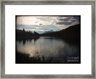 Framed Print featuring the photograph Shallow Lake by J Ferwerda