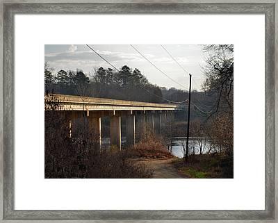 Shallowford Bridge Over The Yadkin- 51008732b Framed Print by Paul Lyndon Phillips