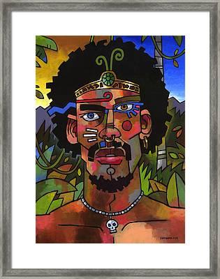 Shaman Framed Print by Douglas Simonson