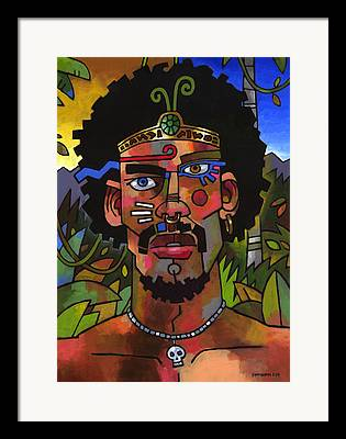 Spiritual Healer Framed Prints
