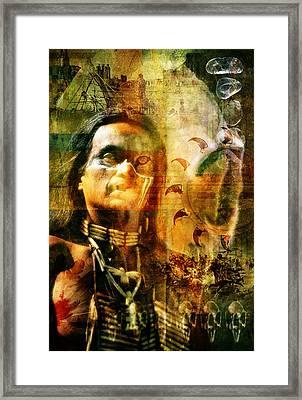 Shaman. Framed Print by Mark Preston