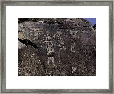 Shaman Panel Framed Print by Art Berggreen