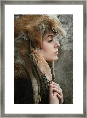 Shaman Framed Print by Cambion Art