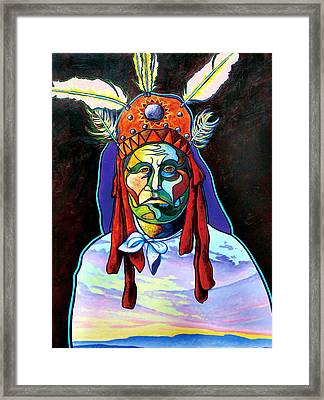 Shamans Power Framed Print