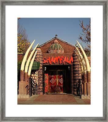 Shambala Framed Print by Vitaliy Shcherbak